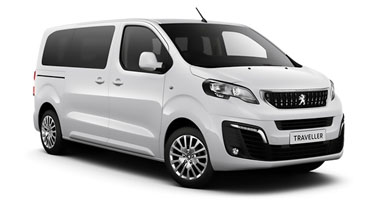 Peugeot Traveller van offers
