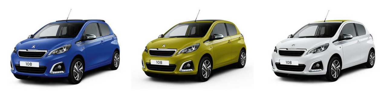 The Peugeot 108 Collection at John Pease Motor Group